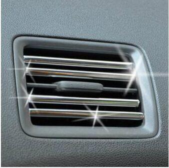 3 meters car Air conditioner outlet strip car aircon sticker For Citroen c4 Citroen c5 Citroen c3 Citroen xsara picassocar car(China (Mainland))
