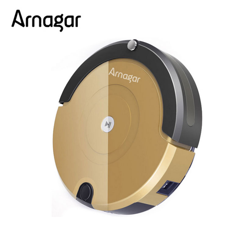 Robot vacuum Cleaner Arnagar Q2 Cleaning Machine,Big Dustbin household cleaning 3cm barrier overpass vacuum robot Dust Cleaner(China (Mainland))