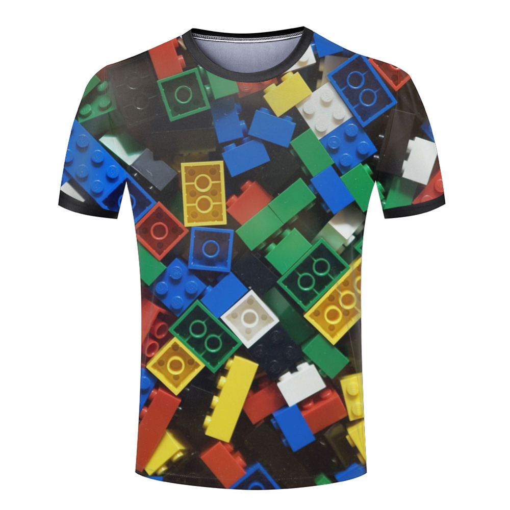 Summer Style Men T-Shirt Super Popular Children's Toy 3D Print T Shirt Brand Mes Tops Tees Euro Size S-4XL Free Shipping(China (Mainland))