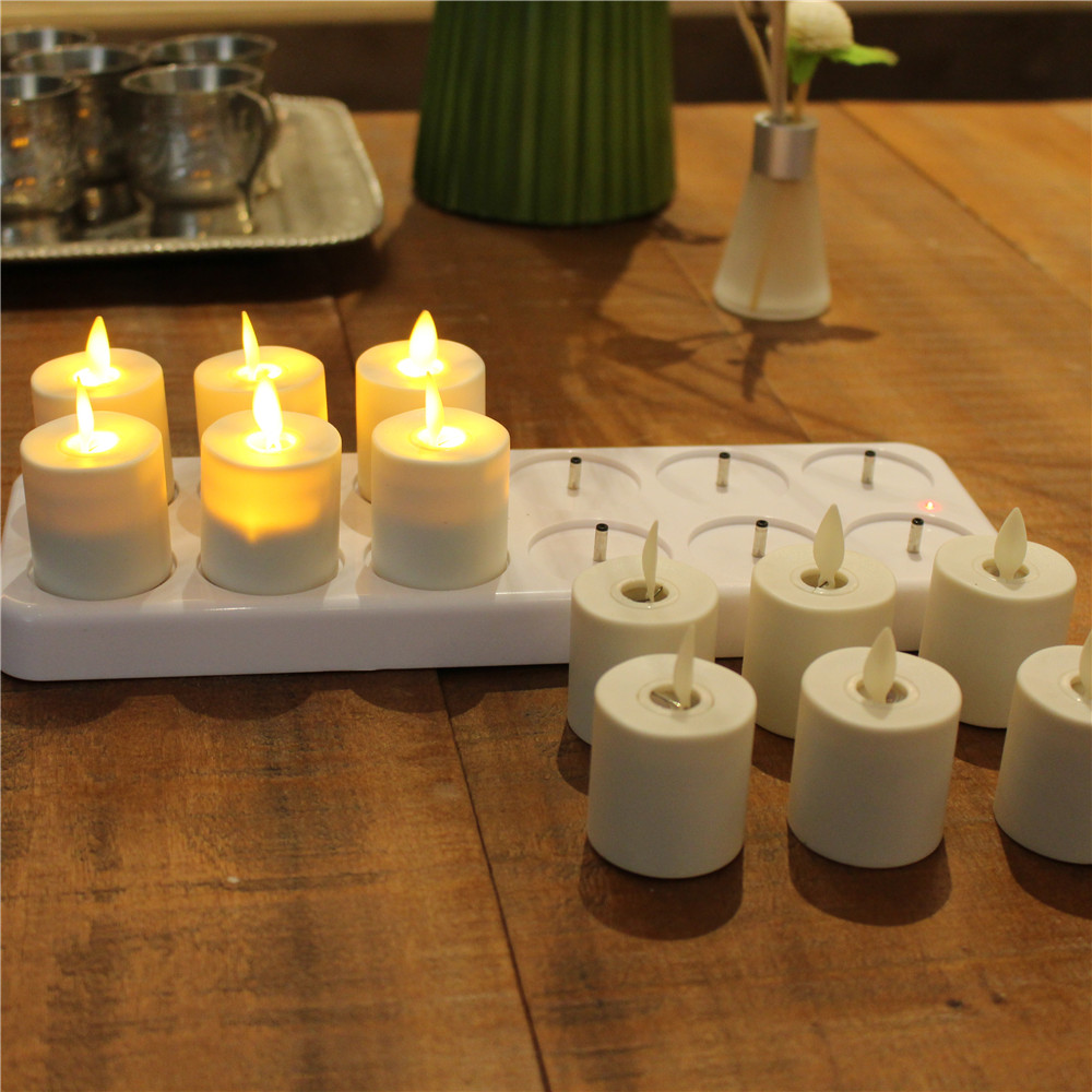 Wax Led Tea Light Candles