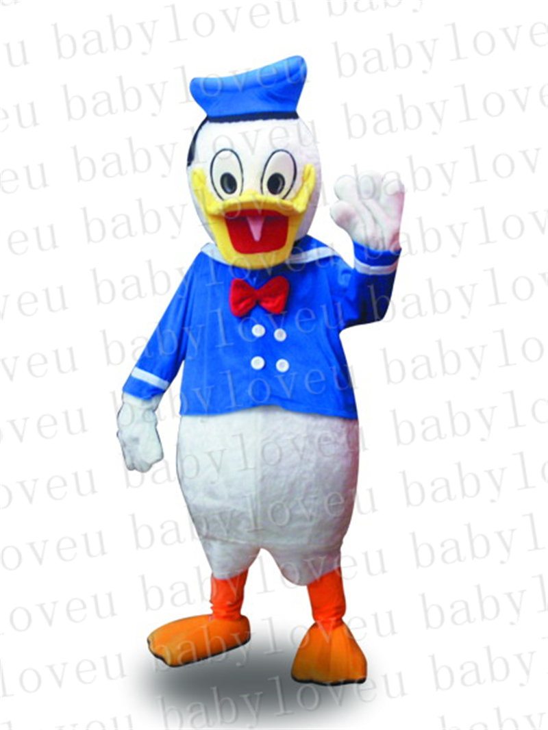 Donald Duck mascot costume halloween costumes party costume dinosaurs fancy dress christmas kids gift surprise