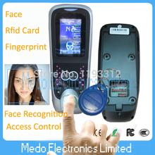 Professionelle Gesichts-zutrittskontrolle mit bauen in fingerabdruck und 125khs rfid Zutrittskontrolllesers(Hong Kong)