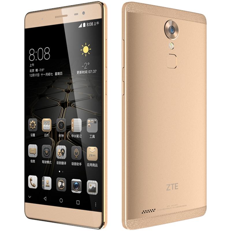 "<font><b>ZTE</b></font> Axon C2016 Snapdragon MSM8952 Android 5.1 Octa Core 1.5GHz 16MP 6.0"" Mobile Phone 3GB RAM 32GB ROM 4140Mah <font><b>Smartphone</b></font>"