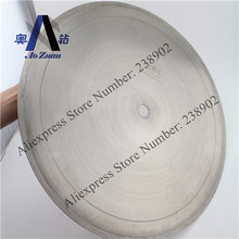 """18 """" 450 mm galvanizado continúa llanta lapidaria diamante hoja de sierra / disco de corte para piedra dura de vidrio, jade, ágata, Opal etc"""
