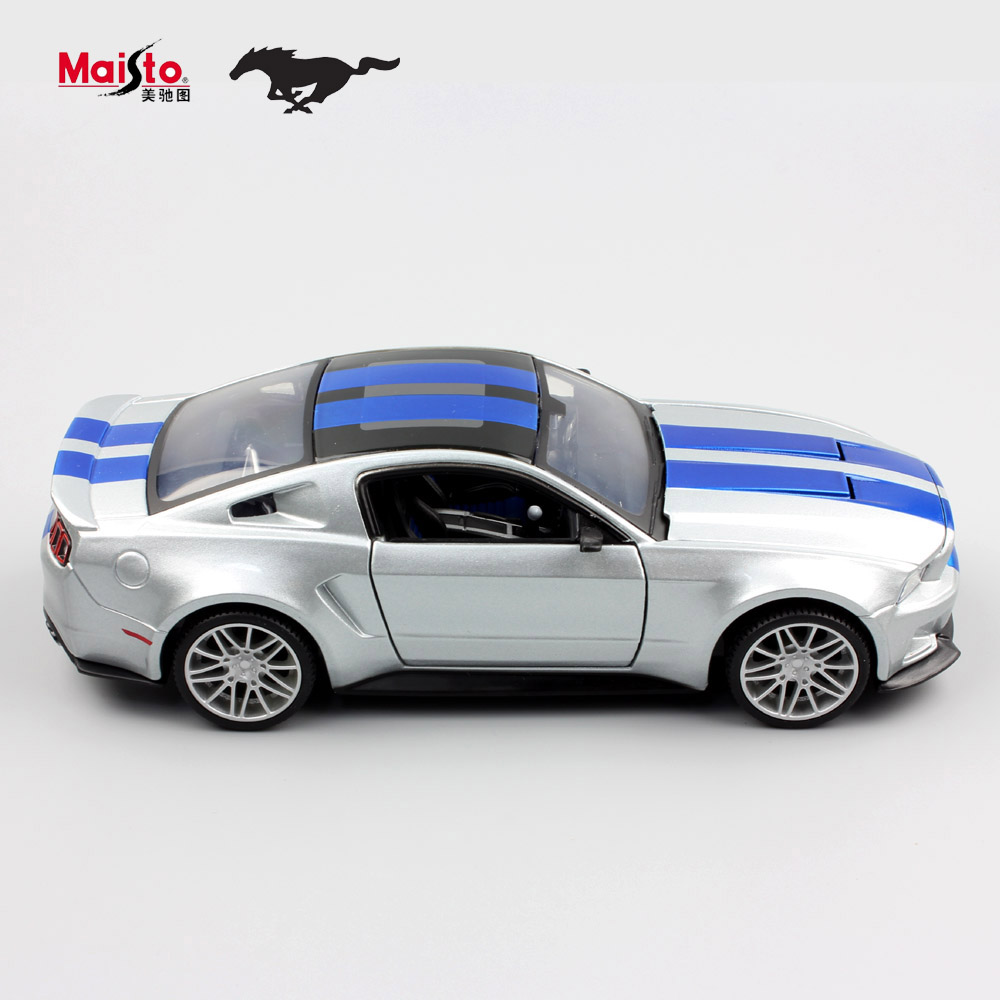 1:24 Children maisto 2014 ford mustang metal diecast racing miniaturas car models vehicle collection gift for display kids toys(China (Mainland))