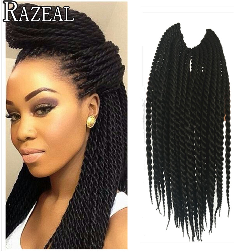 Small Crochet Hair Styles : 12in 30Roots Crochet Braid Small Havana Mambo Twist Hair Extensions ...