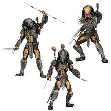 "7"" NECA AVP Aliens vs Predator Series Scar Chopper Predators Sci-Fi Film PVC Action Figure Collectible Model Toys Brinquedos(China (Mainland))"