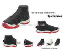 Прохладный usb флэш-накопители спортивная обувь usb-палки привода 8 ГБ диск памяти 2 г 4 г Pendrive 16 ГБ usb бесплатная доставка карты