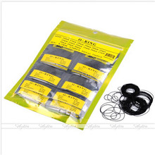 Wholesale Price High-end 750 Pcs 0.7MM O-Ring Watch Back Gasket Rubber Seal Washers Size 16 mm-30 mm(China (Mainland))