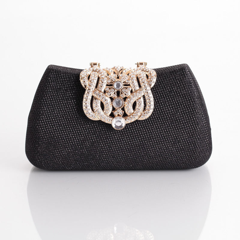 2015Beautiful Clutch Fashion Diamond Crown Evening Bag Wedding Banquet Party Handbag Mini Purse Chain Shoulder Bag XS01(China (Mainland))