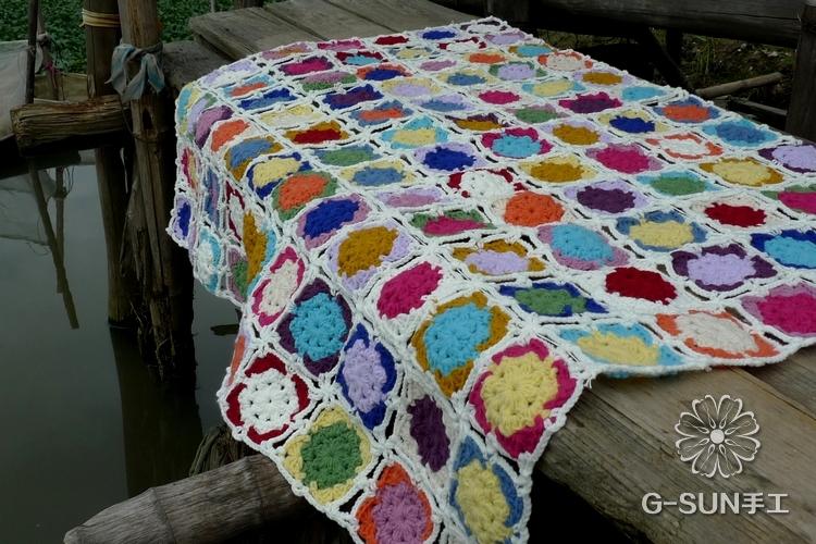 2014 nueva moda crochet lace manta para caliente crochet - Como hacer mantas de ganchillo ...