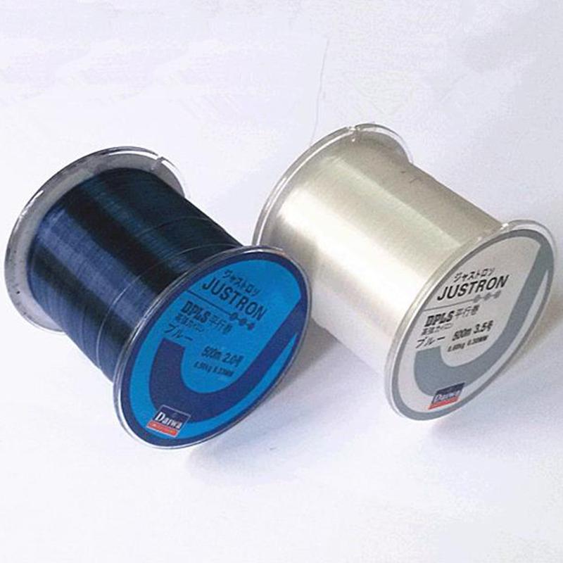 500m new brand transparent black nylon fluorocarbon for Black fishing line