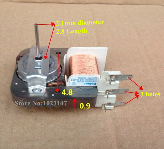 New Hot Microwave Oven Fan Motop Motor Gal6309e 30 Zd For Galanz Parts