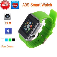 Smartwatch A9S Bluetooth Smart Watch Heart Rate for Apple iPhone & Samsung Android SmartphoneRelogio Inteligente Reloj Watch