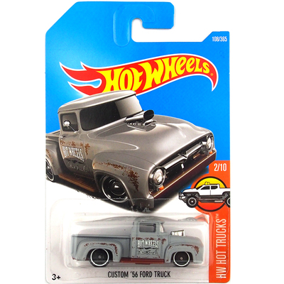 New Arrivals 2017 Hot Wheels Custom 56 Ford Truck Metal Diecast Cars Models Collection Kids Toys Vehicle For Children Juguetes(China (Mainland))