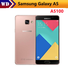 Buy Original Samsung Galaxy A5 2016 A5100 Original Unlocked Cell Phones 5.0 Inch Quad Core 13 MP Camera 16GB Dual Sim refurbished for $237.66 in AliExpress store