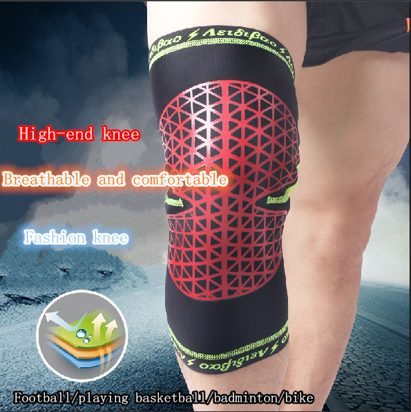 New Anti-Collision Basketball Knee Strap Of Warm Outdoor Climbing Cycling Sport Knee Guards Brand Sporting Goods Unisex F601(China (Mainland))