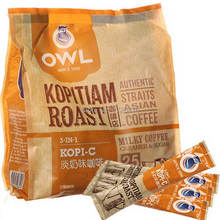 Owl owl 3 in 1 evaporated milk instant coffee 500 g free shipping(China (Mainland))
