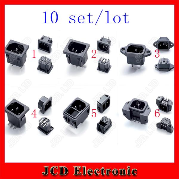 Электрическая вилка Jcd 10 ss/120 10 /250 AC IEC Mixed