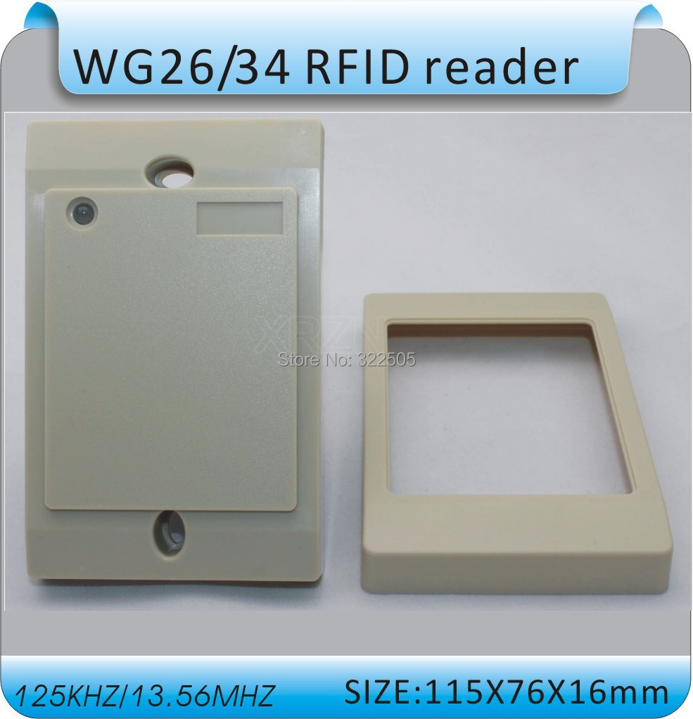 wholesale 13.56MHZ MF1 IC card Reader Reliablecontactless reader IC Card Reader WG26/34 S50  Card Reader +10pcs card<br><br>Aliexpress