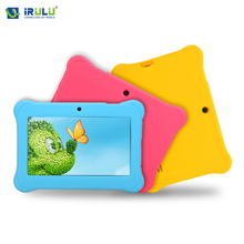 iRULU BabyPad Y1 7'' Tablet PC Kids Children Tablet Android 4.4 Quad Core Dual Cam Google GMS Test 8GB ROM Free Silicone Case(China (Mainland))