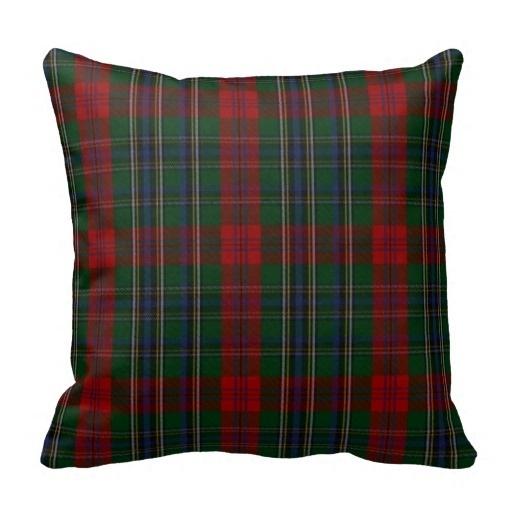 Another Stylish Clan Maclean font b Tartan b font Plaid Pillow Case Size 45x45cm Free Shipping