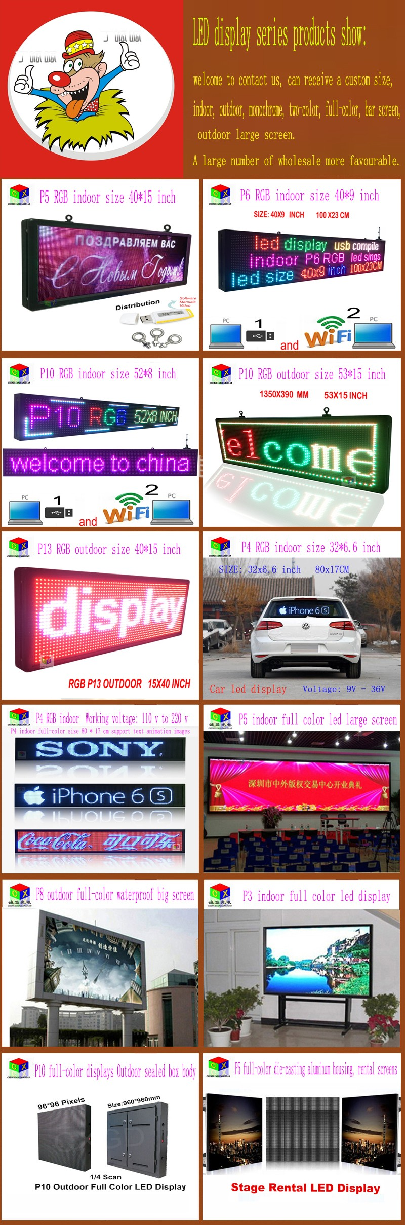 MRV300 Q full-color LED display controller card supports synchronous receiver / Nova reception card