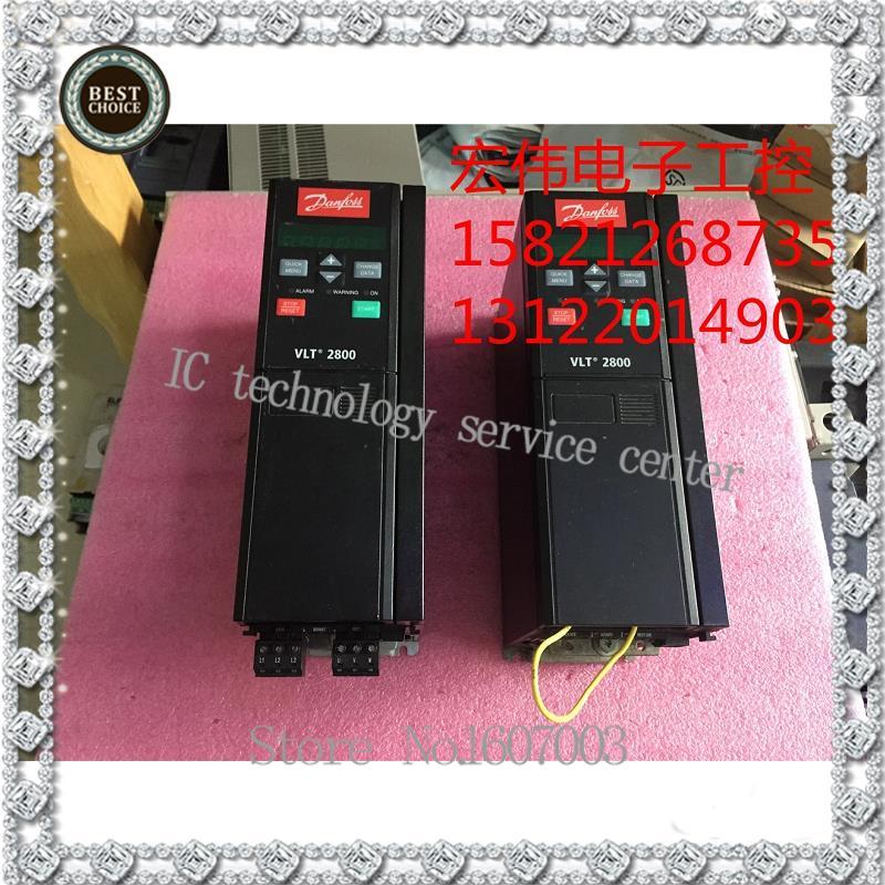 Danfoss frequency converter VLT2800 VLT2830PT4B20STR0DBF00A00C1 3 kw 380 v quality assurance(China (Mainland))