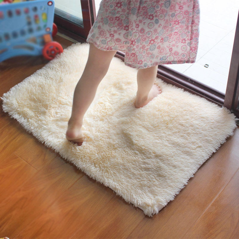 shaggy Modern Bathroom bath mat anti-slip 40*60cm/15.74*23.62in(China (Mainland))