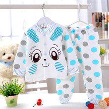hot selling baby 2016 NEW Panda shaped Lovely Boy girl Pure cotton underwear suits,winter baby,children Keep warm 3color gifts(China (Mainland))