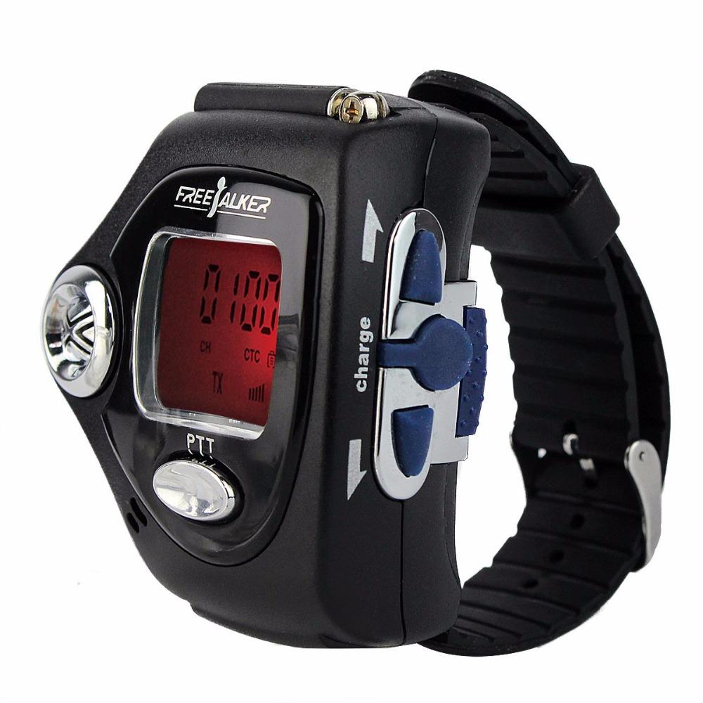 2 pcs Black Freetalker RD-820B Walkie Talkie UHF 0.5W 22CH VOX Scan Scrambler LCD Portable Radio Watch For Gift Children A7204A(China (Mainland))