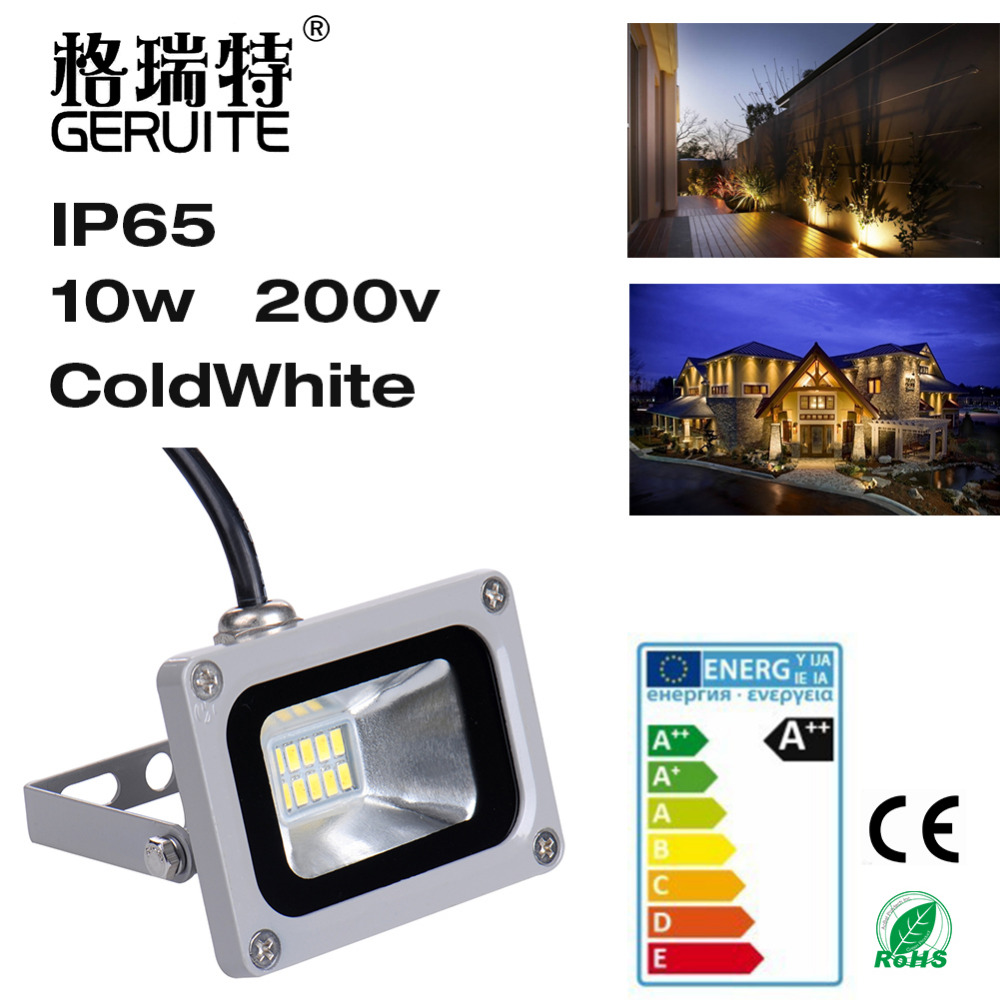 8pcs Led Flood light outdoor lights 10W 220V 720LM 12LED SMD5730 Floodlights For street Square Highway Outdoor Wall billboard(China (Mainland))