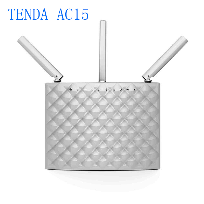 English Firmware Tenda AC15 Dual Band WIFI Router 1900Mbps 2.4GHz/5GHz 1300Mbps+600Mbps With USB3.0 802.11ac Remote Control APP<br><br>Aliexpress