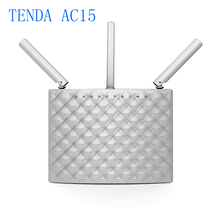 English Firmware Tenda AC15 Dual Band WI FI Router 1900Mbps 2.4GHz/5GHz gigabit router With USB3.0 802.11ac Remote Control APP(China (Mainland))
