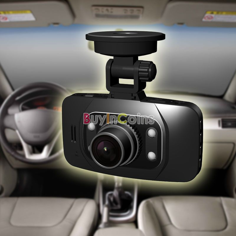 HD 1080P Car DVR Vehicle Camera Video Recorder Dash Cam G-sensor HDMI GS8000L US AS #45307(China (Mainland))