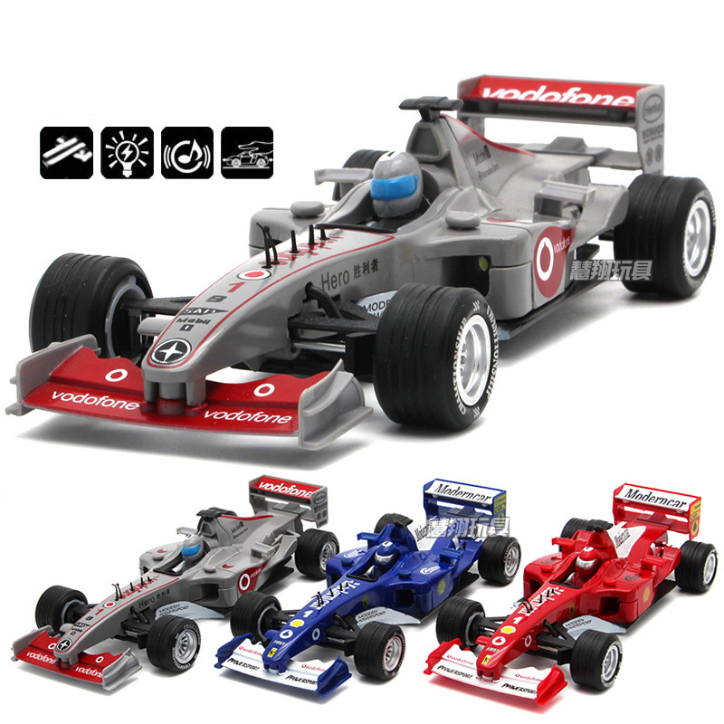 Brand New 1:32 Diecast Alloy Formula 1 Model Cars Mclaren F1 Metal Souvenir With Pull Back Function Sound Light Kids Toys(China (Mainland))