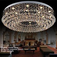 Chandeliers lustres de sala modern crystal chandelier Dia1000mm*H320mmliving room Chandeliers lighting modern crystal chandelier(China (Mainland))