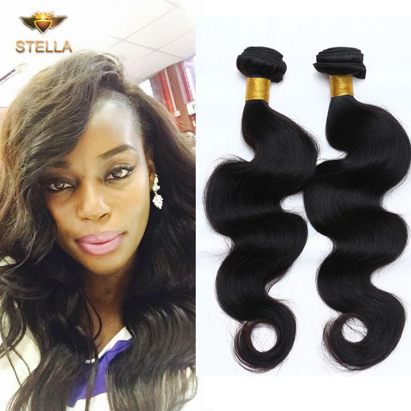 Best Selling 6a Brazilian Virgin Body Wavy Hair Wave 4pcs Brazilian Body Wave 8-28inch Brazilian Hair Wave Bundles Free Shipping