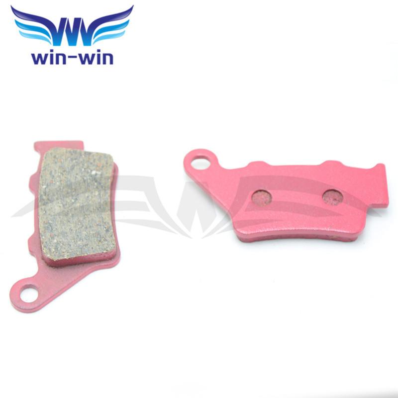 "unique design motocross carbon ceramic composite brake pads left&right ceramic brake disks for HONDA FX 650 X/Y ""Vigor"" 99-03(China (Mainland))"