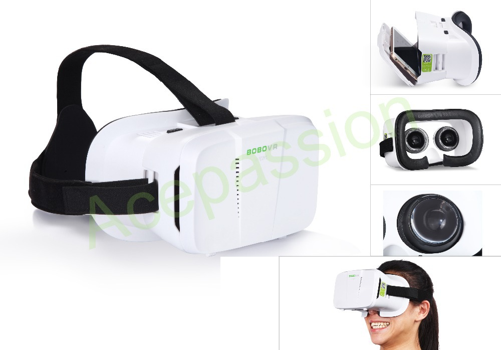 """2015 vr virtual reality glasses HeadMount vr googles gear vr Glasses rift 3d movies Gamessupport 3.5"""" - 6.0"""" Smart Phone(China (Mainland))"""