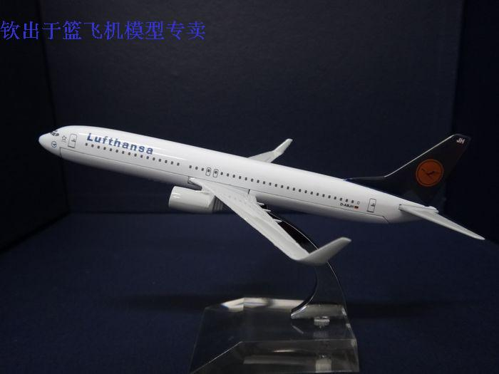 1:400 16cm Airplane Model Lufthansa Air Airlines Boeing B737 Airways Aircraft Jetliner Alloy Plane Model Diecast Souvenir Toy(China (Mainland))