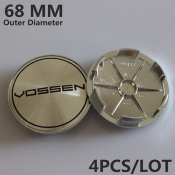 68MM VOSSEN Sticker Emblema Wheel Center Cap Centre Hub Cap Wheel Cover VOSSEN Centro Tapas Llantas Calota Centro Rodas