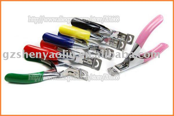 Free Shipping - nail art clipper for artificial false tips cutter manicure tool NA058(China (Mainland))