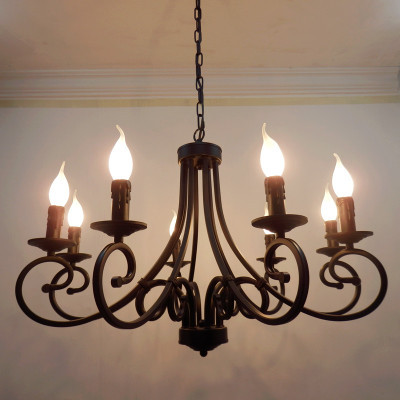 buy free shipping wrought iron chandelier candles. Black Bedroom Furniture Sets. Home Design Ideas
