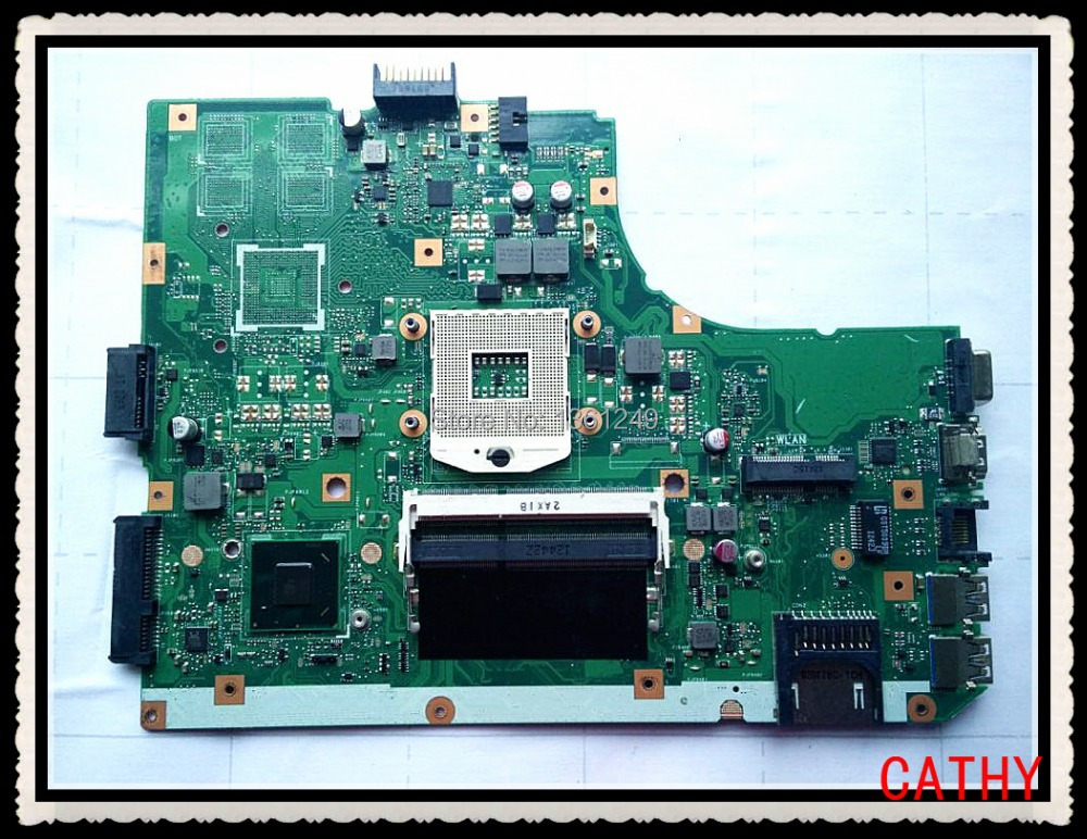 For Asus K55VD K55A U57A Laptop Mother Main board 60-N89MB1300-B03 69N0M6M13B03 K55VD REV:3.1 100% fully tested(China (Mainland))