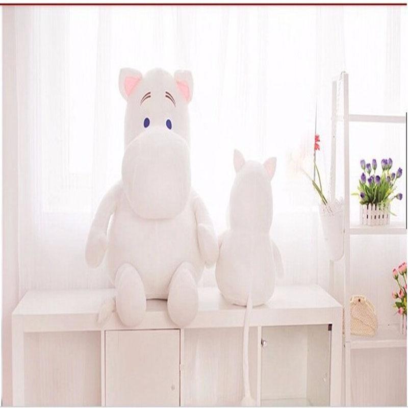 1Pcs 23cm Genuine Moomin Hippo Plush Toy Stuffed Doll Little Fertilizer Valentine Park Spring Bom Free Shipping(China (Mainland))