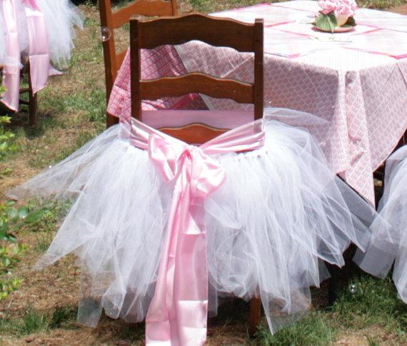 Гаджет  One Size Fits All Tutu Chair Skirt  None Мебель