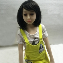 Buy 128cm Mimi Japanese flat chest real sex doll solid small breast love doll men realistic lovely oral sex doll men sex toy