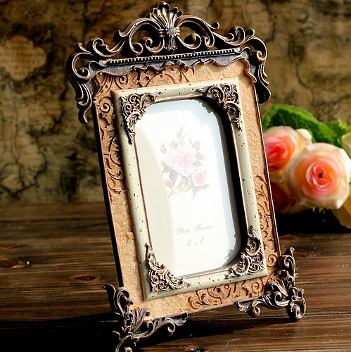 2015 European Palace Resin Vintage Photo Frame Stereo 6 Inch 16*26 cm(China (Mainland))