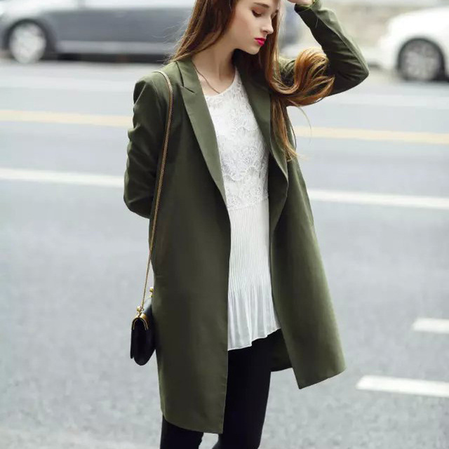 Осень и зима мода ветровка женщины с длинным рукавом плащ для женщин женский плащ